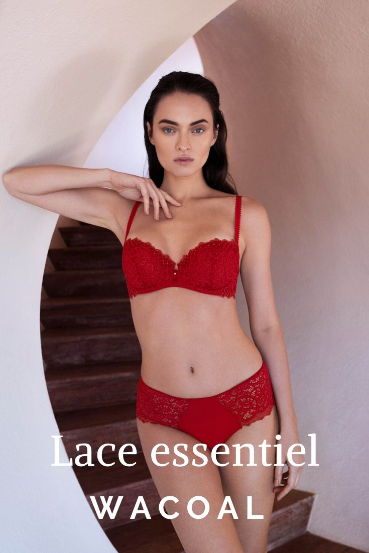 Wacoal Lace essentiel chili